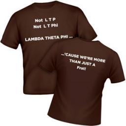 Lambda Theta Phi Shirts | Moon Tee Shirt | Collegiate Greek