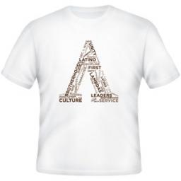 Lambda Theta Phi Word Cloud Tee Shirt | Collegiate Greek