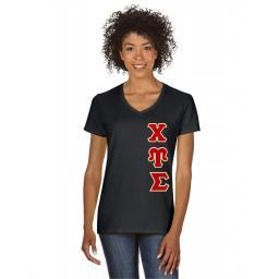 Sorority Short Sleeve V Neck Shirt | Greek Shirt | Shop now