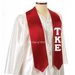 Embroidered Graduation Stoles | Greek Graduation Stoles