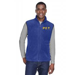 Fleece Vest | Fraternity Jacket | Collegiate Greek