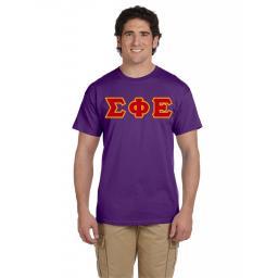 Fraternity Short Sleeve Tee Shirt | Collegiate Greek