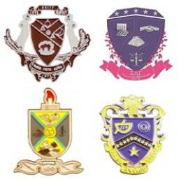 Shield Pin | Sorority & Fraternity Pin | Collegiate Greek