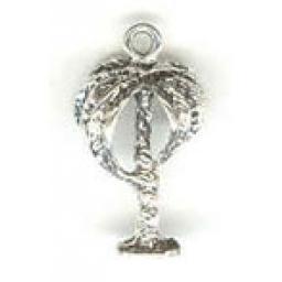 Sterling Silver Palm Charm | Collegiate Greek