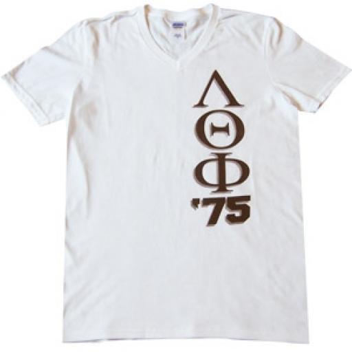 Lambda Theta Phi - Vee Neck Tee Shirt