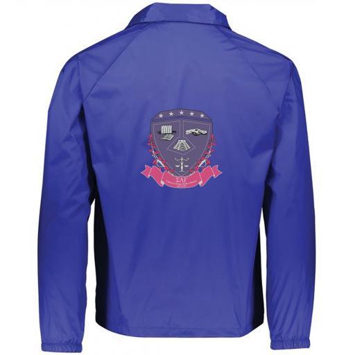 Large Crest Patch Jacket Back