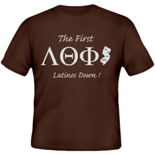 Lambda Theta Phi - First Tee Shirt