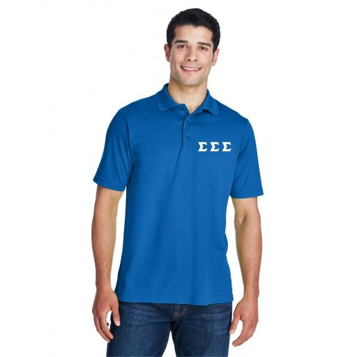 Embroidered Men's Polo Shirts | Embroidered Greek Letters