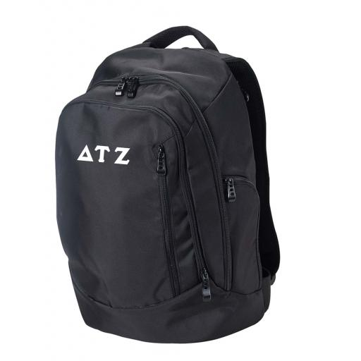 Back Pack with Embroidered Greek Letters