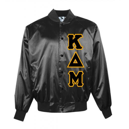Fraternity & Sorority SATIN COACH JACKET Solid Color