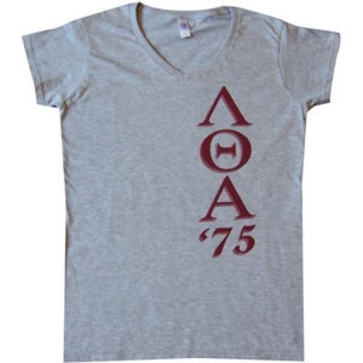 Lambda Theta Alpha - V Neck Tee Shirt