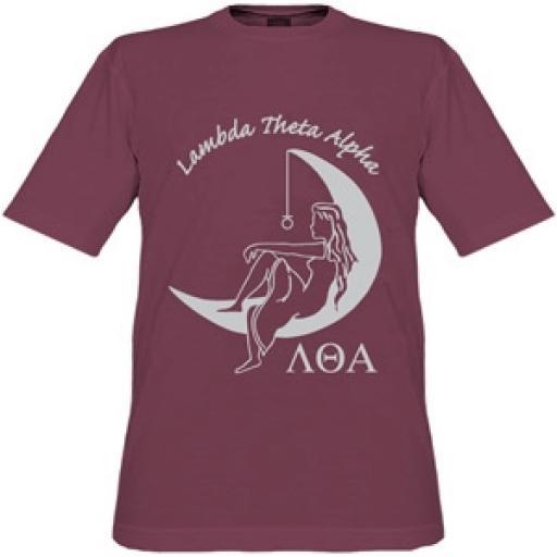 Lambda Theta Alpha - Lady On The Moon Tee Shirt