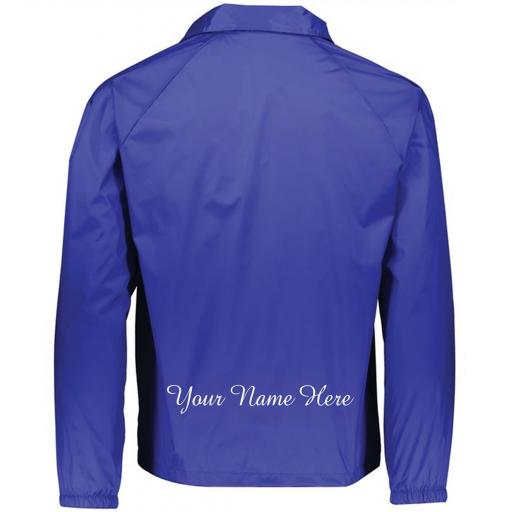 Large Script Embroidery Name or Text: Lower Back