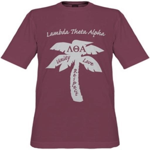 Lambda Theta Alpha - Palm Tee Shirt