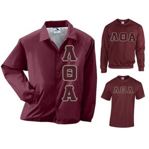 Lambda Theta Alpha Package - Jacket, Sweatshirt, Tee Shirt