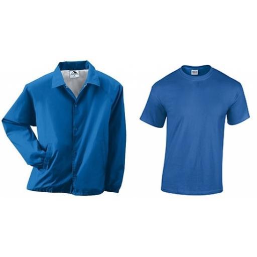 Coach Jacket and Tee Shirt